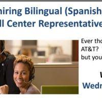 AT&T Busca Empleados Bilingues