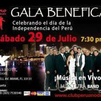 Fiesta de Gala Organizado por el Club Peruano de la Florida a Beneficio de las Víctimas de los Recientes Desastres Naturales