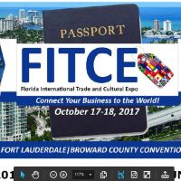 Florida International Trade and Cultural Expo (FITCE 2017) - SPONSOR & REGISTER TODAY!
