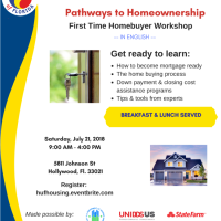Hispanic Unity of Florida's  English First Time Home-buyer Workshop